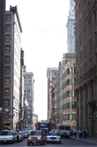 Studieren in USA: Straße in New York